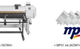 """Wide Versatile Hybrid Printer """"ValueJet 1627MH"""" - MP31 INK"""
